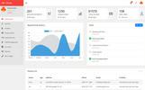 "Responzivní Administrativí šablona ""HR-Cloud - Multi purpose Payroll, HR Management System"""