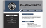 """Jonathon Smith"" modèle de CV"