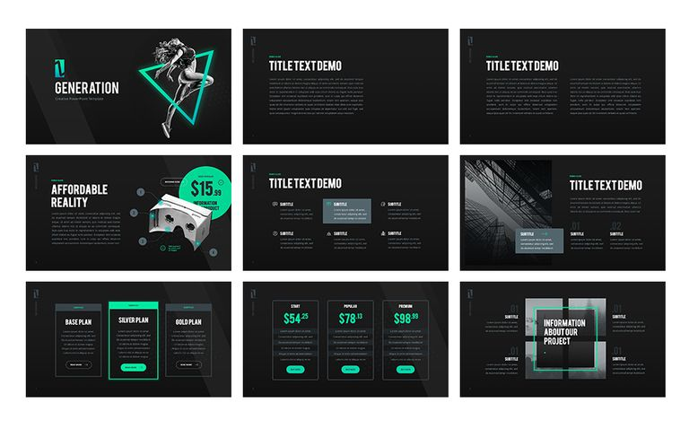 Z Generation - Creative PowerPoint Template #65792