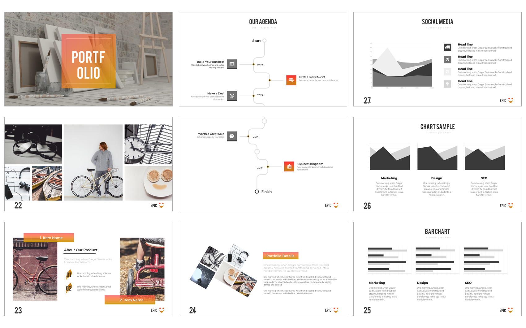 Epic powerpoint presentation powerpoint template 64442 epic powerpoint presentation powerpoint template big screenshot zoom in alramifo Gallery