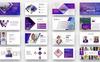 Plantilla PowerPoint para Sitio de Negocio y Servicios Captura de Pantalla Grande