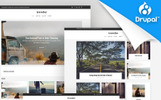 Traveler - Travel Blog Premium Template Drupal №65735