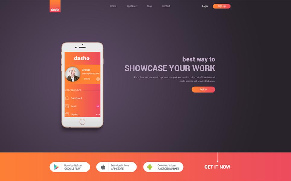 Dasho app showcase app store psd template 65756 dasho app showcase app store psd template big screenshot maxwellsz
