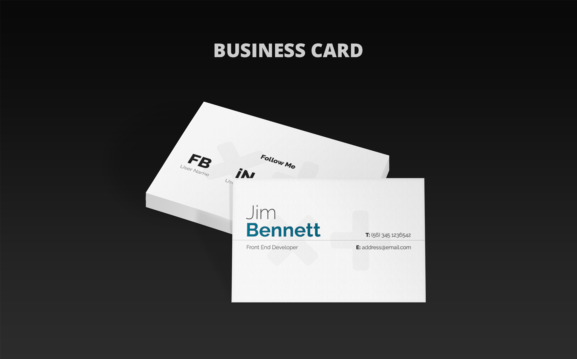 100 [ Resume Business Cards ]