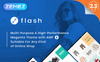 Flash - Multi-Purpose & High-Performance Magento Theme Big Screenshot