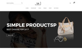 Sa - Minimalist eCommerce Website Template
