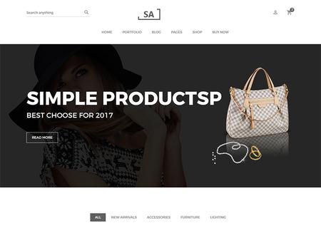Sa - Minimalist eCommerce