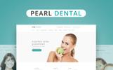 Weblium Website Concept para Sitio de Odontología
