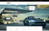 Auto Market Bootstrap Website Template