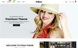 """Posh - Simple, Clean & Minimalist Responsive"" thème Shopify adaptatif"