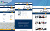 """WebHub - Multipurpose Web Designing"" BootstrapPSD模板"