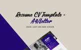 Geometric Business CV Resume Template