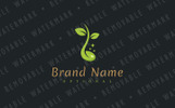 Natural Remedy Logo Template