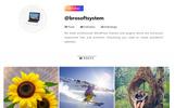 Responsivt Instagram Feed WordPress plugin