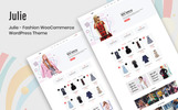 """Julie - Fashion"" Responsive WooCommerce Thema"