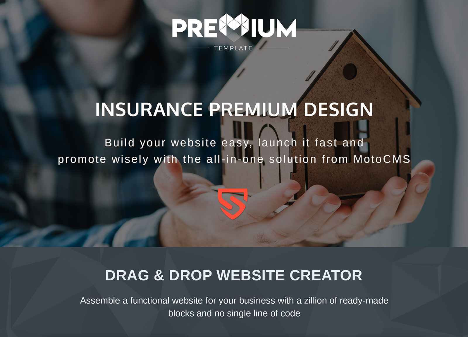 Safety - Insurance Company Moto CMS 3 Template