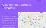 Catalog Multipurpose Directory Website Template