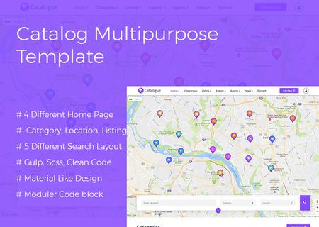 Catalog Multipurpose Directory