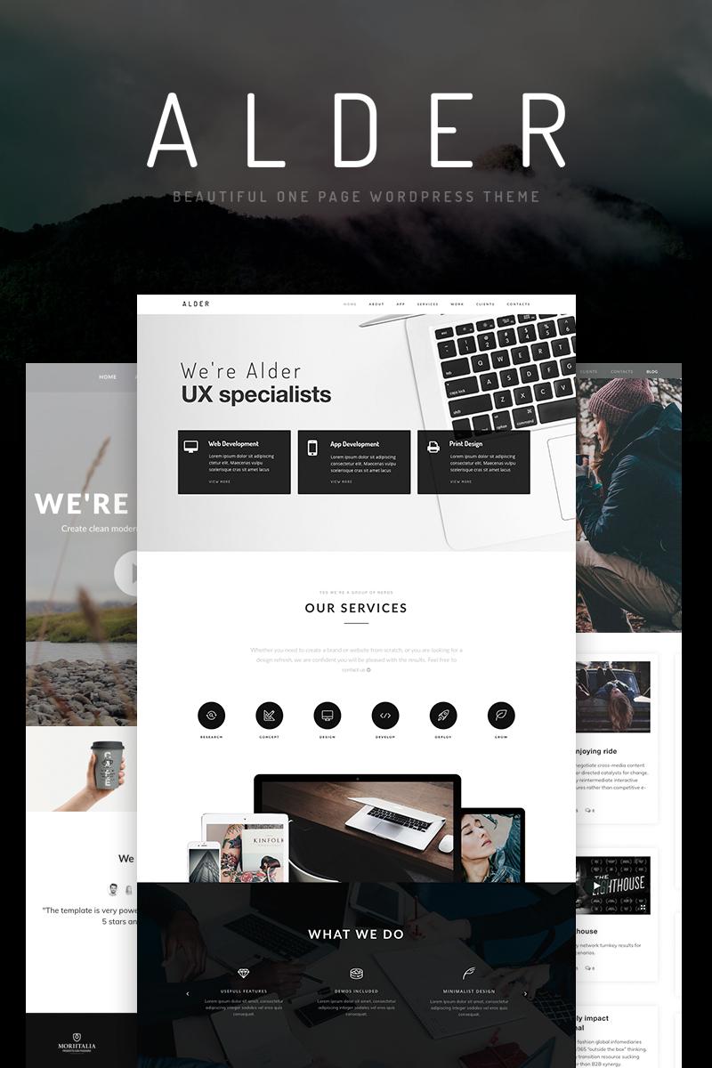Адаптивный шаблон сайта на тему веб-дизайн #65922