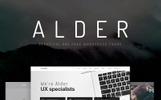 Alder - Tema WordPress de Uma Página