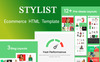Stylist | Responsive eCommerce HTML Website Template Big Screenshot
