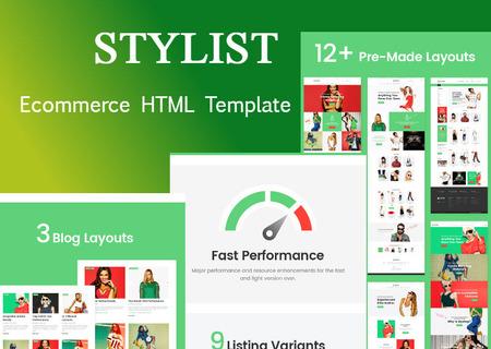 Stylist | Responsive eCommerce HTML
