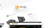 Bitcoin - Mining and Cryptocurrency Joomla Template