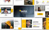 Baper Creative PowerPoint Template Big Screenshot