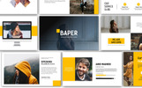 Baper Creative PowerPoint Template