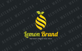 Lemon Twist Logo Template