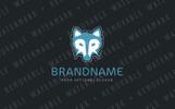 RR Dire Wolf Logo Template