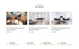 Responsive Furnish - Minimalist Furniture Web Sitesi Şablonu