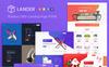 """Responzivní Šablona mikrostránek """"Lander Product Offer"""" Velký screenshot"""