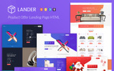 """Landing Page Template namens """"Lander Product Offer"""""""