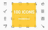 Household Iconset Template
