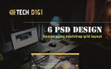 TechDigi PSD Template