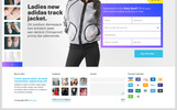 Cart one product webshop / Daily deal webshop PSD Template