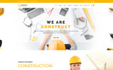 """Construct : Construction, Building & Maintenance"" modèle web adaptatif"