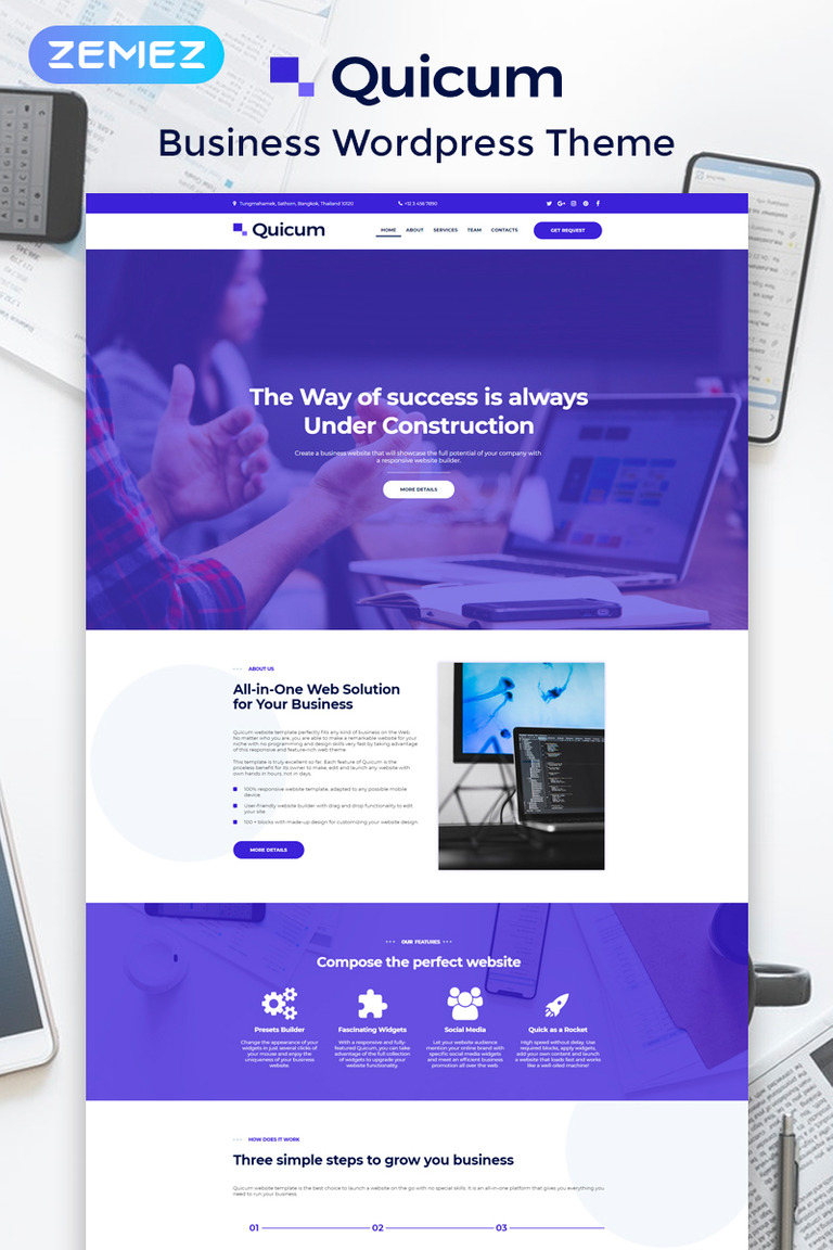 15+ Corporate Business WordPress Themes & Templates 2019 [ Download Now ]