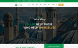 """Worship - Islamic Center Bootstrap HTML"" Responsive Website template"