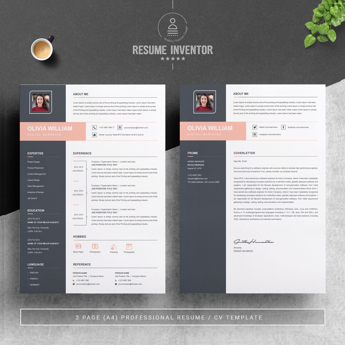 https://s3.tmimgcdn.com/templates/25423/scr/1564412082097_02_2%20Pages%20Free%20Resume%20Design%20Template.jpg