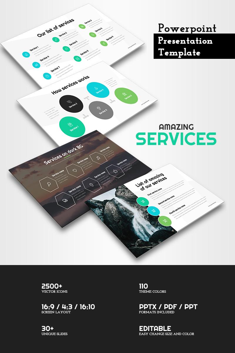 PowerPoint Vorlage #65849 für Designer Portfolio