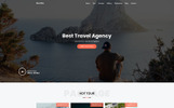 """Landing Page Template namens """"Delite - Travel Agency"""""""