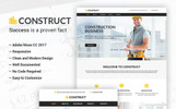 Construct - Construction Business Adobe CC 2017 Muse Template