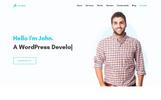 Ellora - Personal Resume & Portfolio Landing Page Template