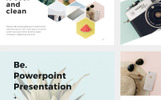 Be Presentation + 30 Photos Bonus PowerPoint Template