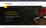 Production Pro - Plantilla WordPress Responsive