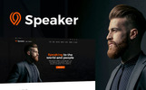 Speaker - Plantilla WordPress para Sitio de Entrenador Vital