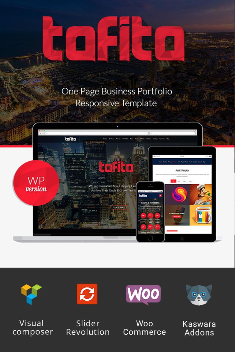 Tofito - Business Theme WordPress Theme Big Screenshot