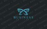 Monarch Butterfly Logo Template